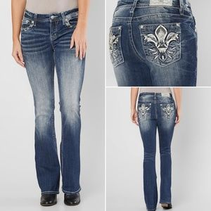 Miss Me Easy Boot Mid Rise Jeans 32